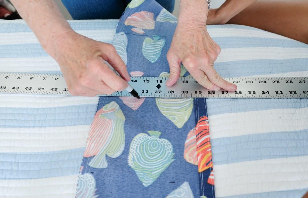 measuring pockets for your bag