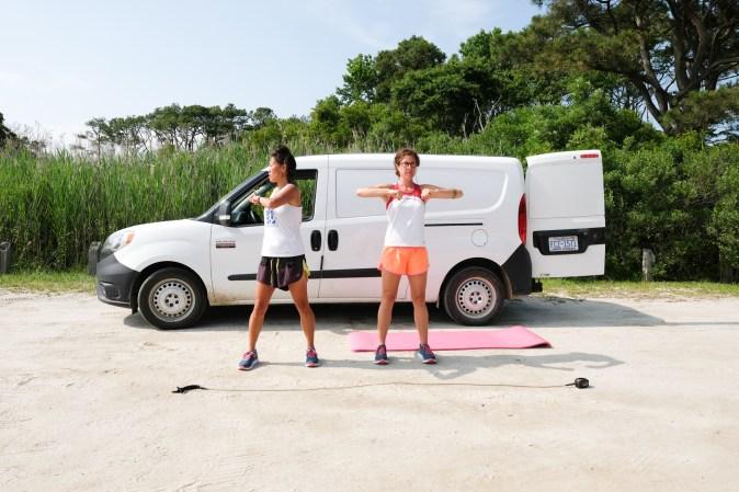trunk twist exercises