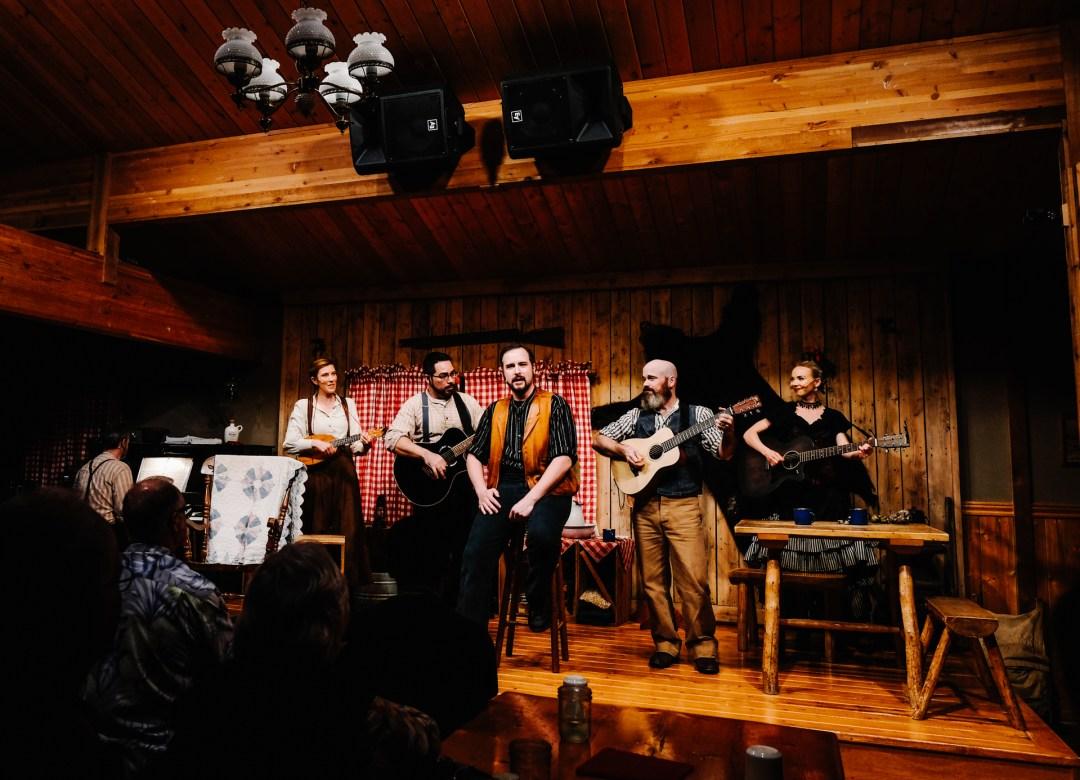 entertainment at Denali Park Village