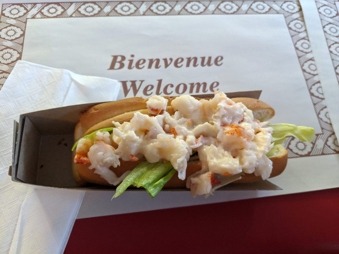 Lobster Rolls in Nova Scotia