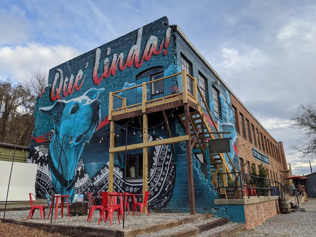 Best Instagram Spots in Asheville: River Arts District