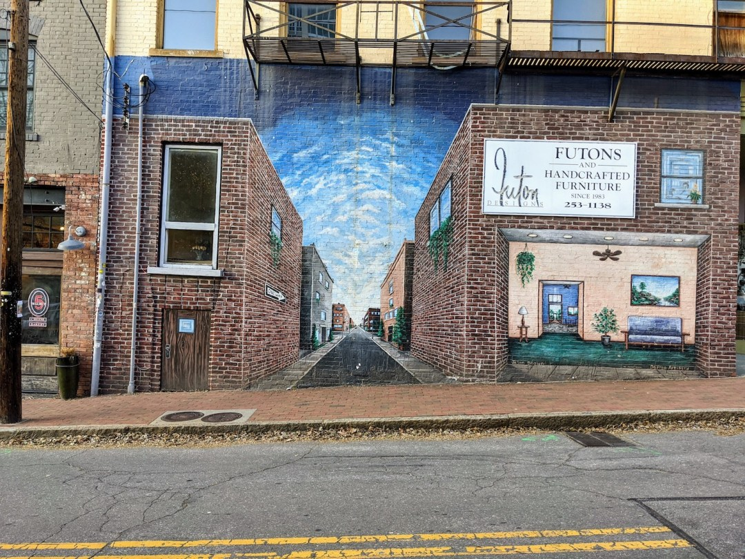popular murals in downtown Asheville