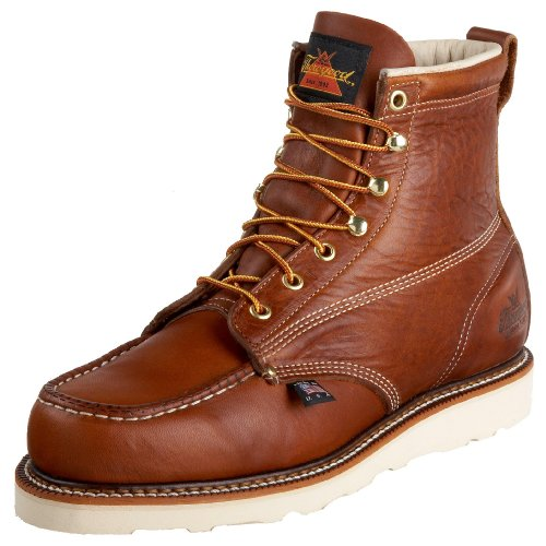 Thorogood Men's 814-4200 American Heritage 6″ Moc Toe Boot
