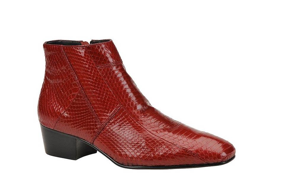 Giorgio Burtini Snakeskin Boots