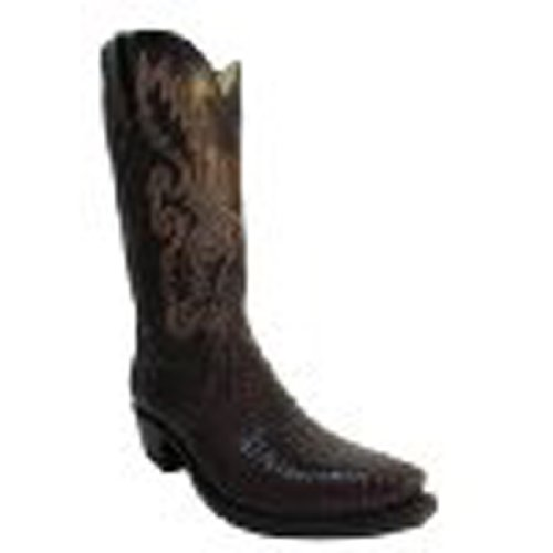 Lucchese 1883 Mens Cowboy Boots N8134D.54 Brown Lizards Size 13
