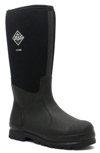 Muck Boot Men's Chore Black Synthetic Boots 9 D(M) US