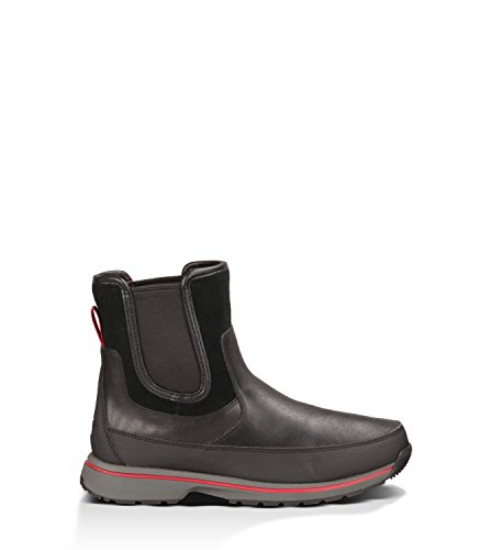 UGG Men's Nigell Black Leather Boot 10.5 D (M)