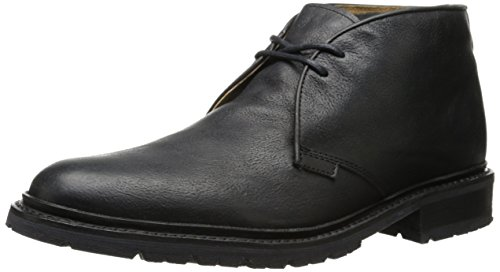 FRYE Men's James Lug Chukka Boot,Black,9 M US