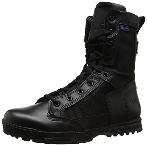 5.11 Men's Skyweight Waterproof Side Zip Tactical Boot, Black, 11 D(M) US