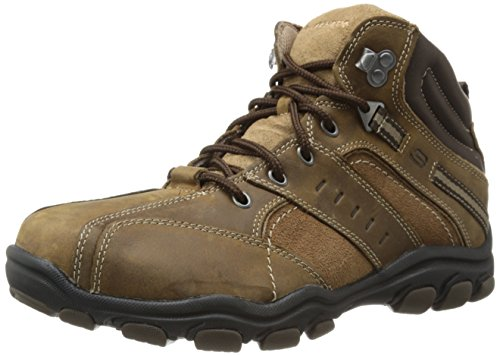 Skechers USA Men's Hodan Chukka Boot,Desert Leather,10 M US