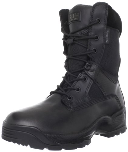 5.11 Men's A.T.A.C. Storm 8″ Side Zip Boot,Black,13 D(M) US