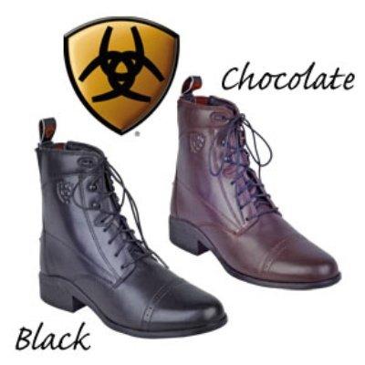 Ariat Women's Heritage Paddock Riding Boot Round Toe Chocolate 6 M US