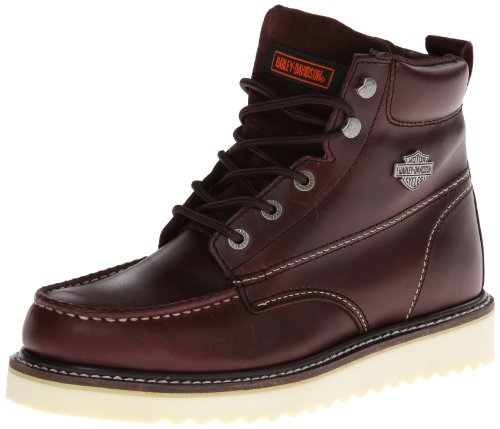 Harley-Davidson Men's Beau Motorcycle Boot,Oxblood,10 M US