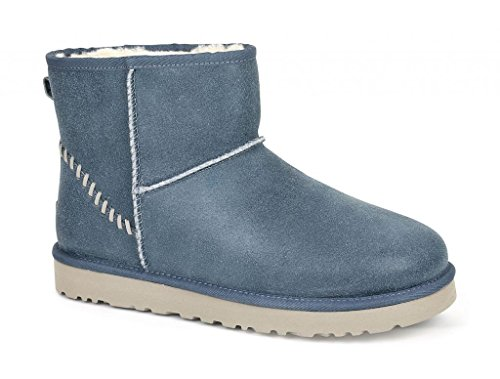 UGG Australia Mens Classic Mini Deco Boot (11 D(M) US, Imperial Blue)