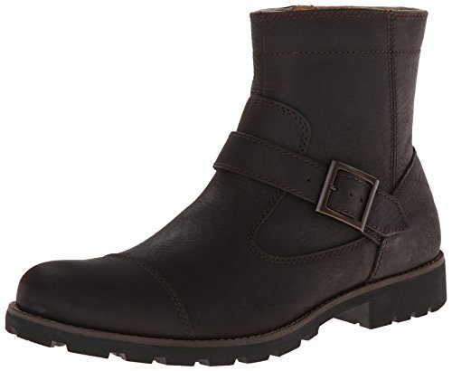 Rockport Men's Street Escape Inside Zip Motorcycle Boot,Tenor Brown,11.5 M US