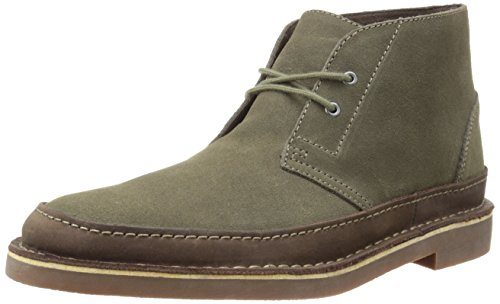 Clarks Men's Bushacre Rand Chukka Boot, Taupe Suede, 10.5 M US