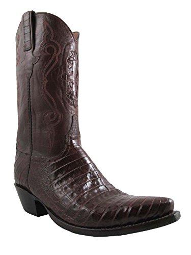 Luccesse Classic caiman men's cowboy boots Belly L1255.54 size 11.5 2E