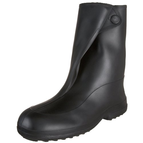 Tingley Rubber 1400 10-Inch Rubber Overshoe with Button Boot, Small