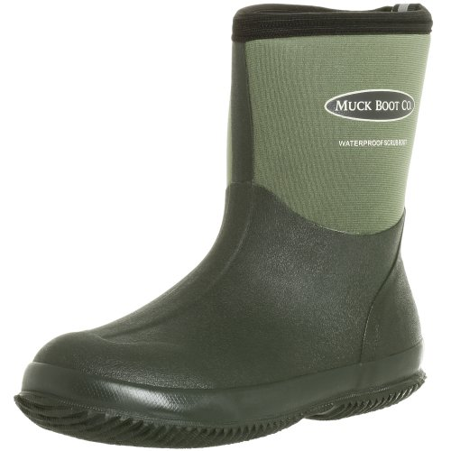 The Original MuckBoots Adult Scrub Boot,Garden Green,8 M US Mens/9 M US Womens