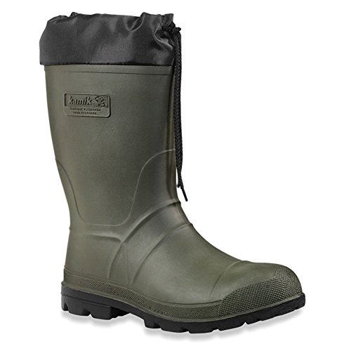 Kamik Men's Hunter Cold Weather Boot,Khaki/Black Sole/Khaki,11 M US