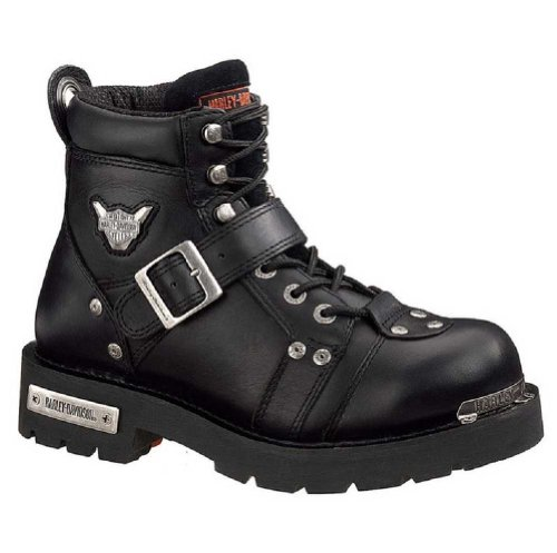 Harley-Davidson Men's Brake Buckle Boot,Black,9 M