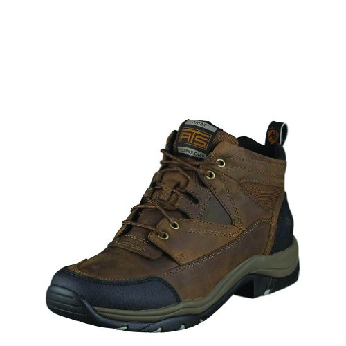 Ariat Mens Terrain Boot (14 D, Distressed Brown)