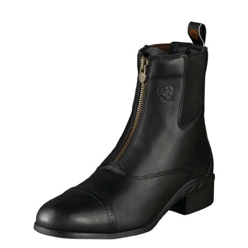 Ariat Men's Heritage Zipper Boot Round Toe Black 9.5 D(M) US