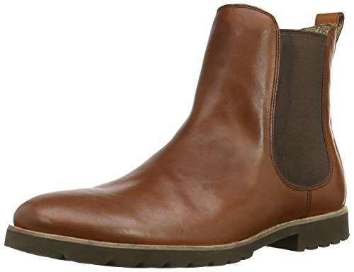 Rockport Men's Ledge Hill Chelsea Boot,Tan,10.5 M US