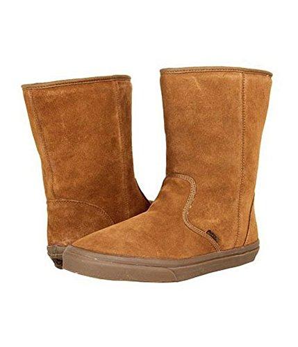 Vans Unisex Slip On Fur Suede Comfort Boots Erminedarkgum M4 W5.5