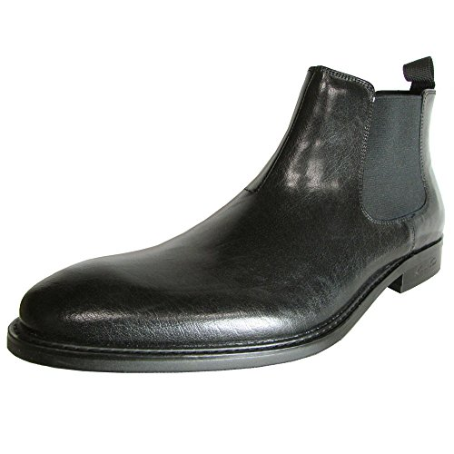Kenneth Cole New York Men's Legal Jar-Gon Leather Chelsea Boot,Black,9.5 M US