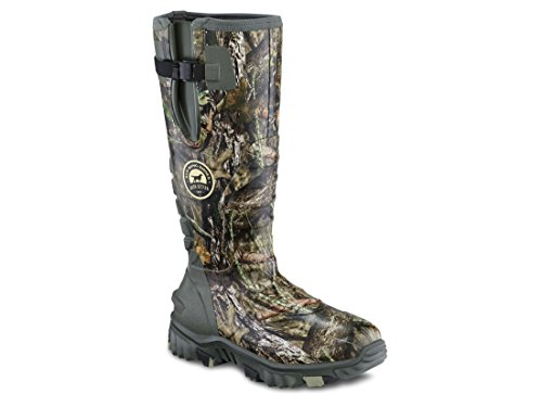 Irish Setter Men's 4884 Rutmaster 2.0 17″ 1200-Gram Rubber Boot, Mod Country Camo, 11 E US