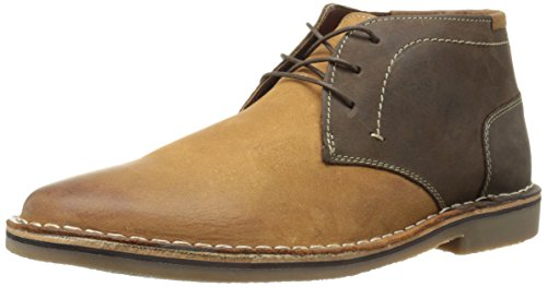 Steve Madden Men's Harsen Chelsea Boot, Tan/Multi, 11.5 M US