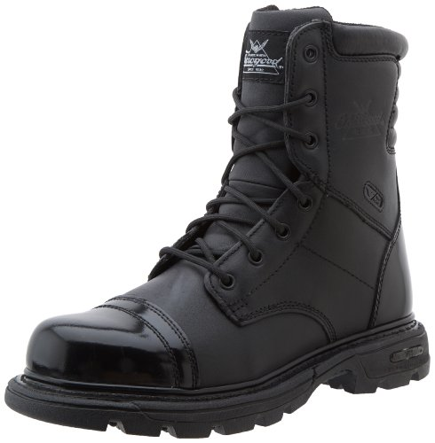 Thorogood Men's 8″ Side Zip Jump Boot Gen-flex,Black,10 W US