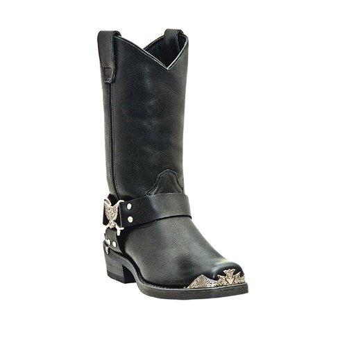 Dingo Men's Chopper Harness Boot,Black,9.5 EW US