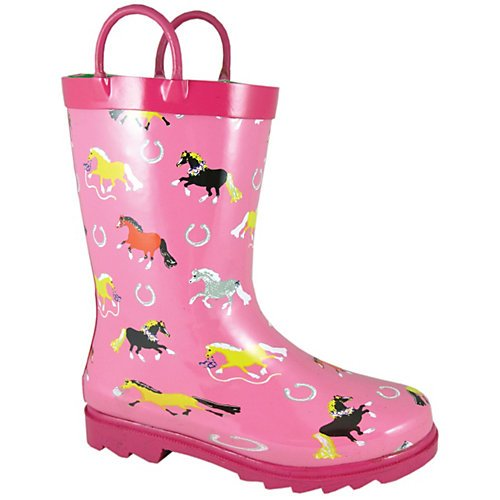 Smoky Mountain Childs Show Horse Rubber Boots 1