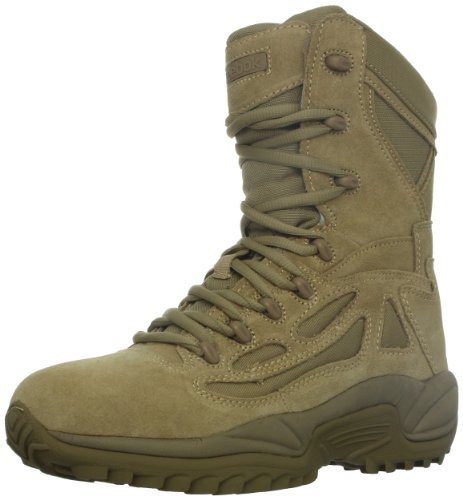 Reebok Men's Rapid Response RB8896 Safety Boot,Desert Tan,12 W US