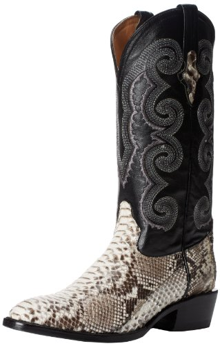 Ferrini Men's Python R Toe Western Boot