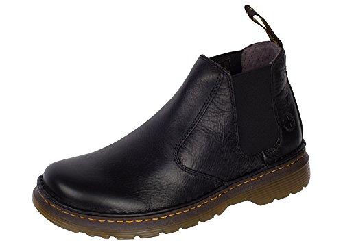 Dr. Martens Men's Lavery Chelsea Boot Black Overdrive 11 M UK (12-12.5 US Men)