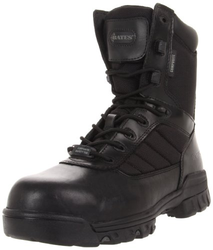 Bates Men's Ulta-lites 8 Inches Tactical Sport Comp Toe Work Boot,Black,7.5 M US