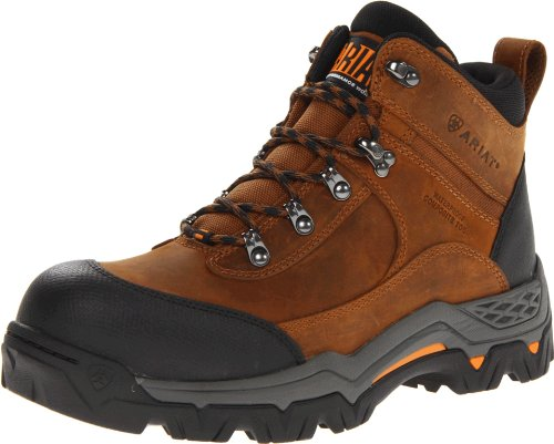 Ariat Men's Trek 5 Inch H2O Composite Toe Boot,Brown,7.5 2E US