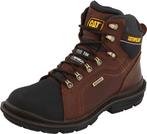 Caterpillar Men's Manifold Tough Waterproof Boot,Oak,12 M US