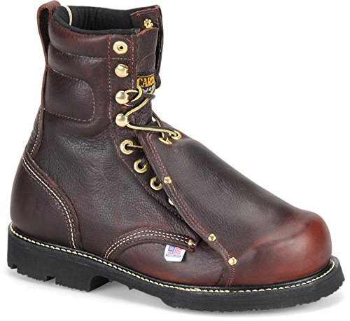 Men's Carolina 8″ Steel Toe Domestic Metatarsal Boots Briar, BRIAR, 8.5M(D)