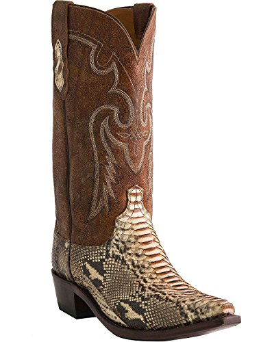 Lucchese Men's Handcrafted 1883 Python Cowboy Boot Snip Toe