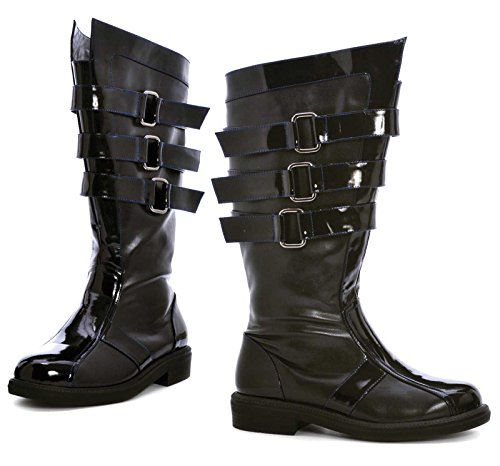 Ellie Shoes Mens Dark Lord Adult Boots Black Large