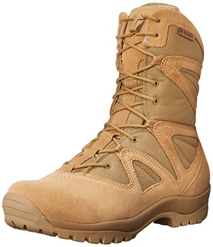 BLACKHAWK! Men's Ultralight Suede Tactical Boot, Tan, 10.5 W US