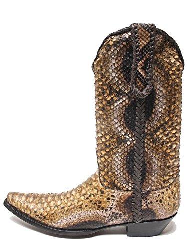 Old Gringo Full Ochre Python Mens Boots