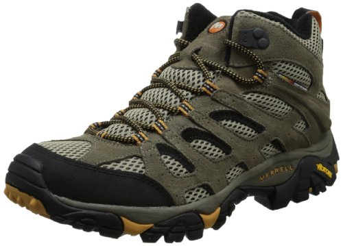 Merrell Men's Moab Ventilator Mid Hiking Boot,Walnut,10 M US