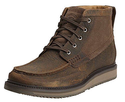 Ariat Men's Lookout Chukka Western Boot, Earth/Stone Suede, 13 M US