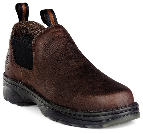 Georgia Men's Romeo Work Shoes Round Toe Russet US