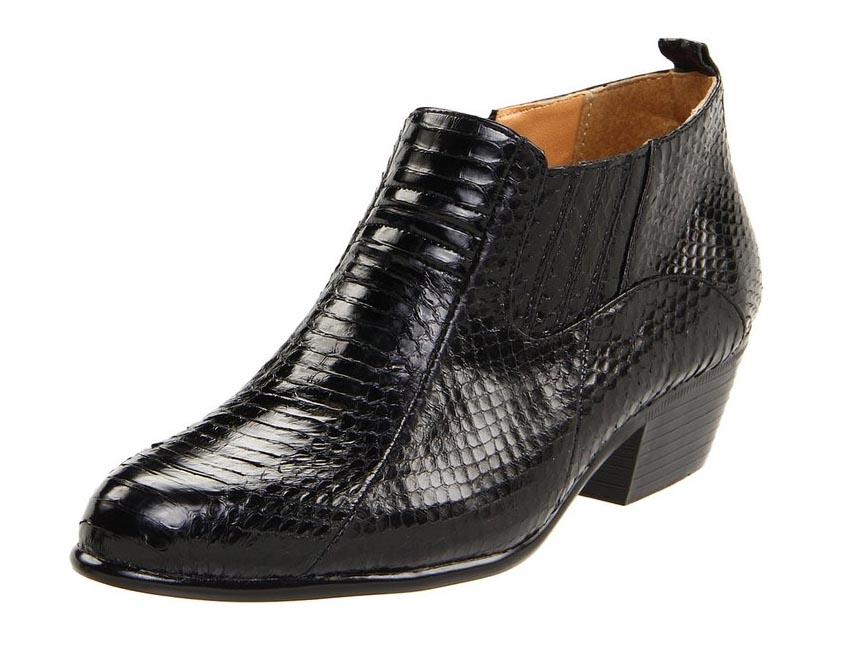 Giorgio Burtini Snakeskin Demi Boots